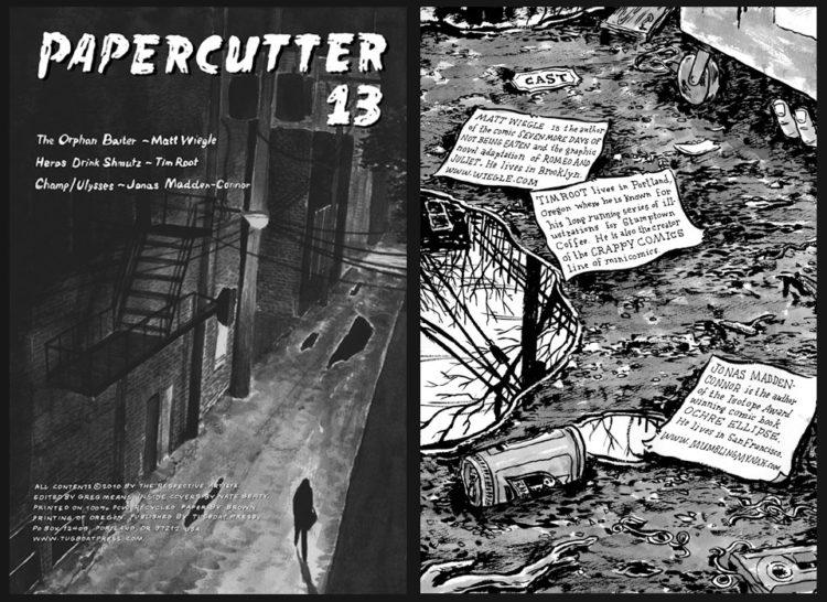 Papercutter 13 Spread