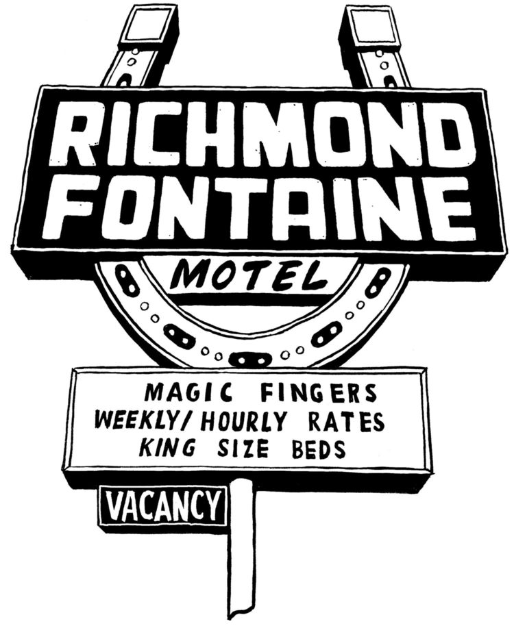 Richmond Fontaine T Shirt