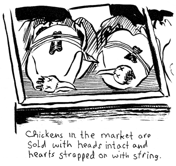nate beaty draws dead chickens